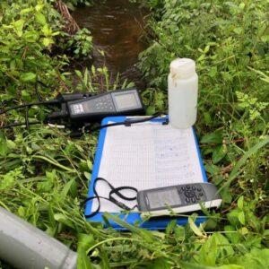 Dr. Snyder's equipment monitoring VA Eastern Shore streams